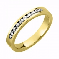 Ladies Diamond Set Wedding Rings