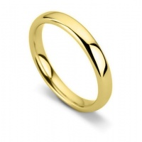 Ladies Plain Wedding Rings